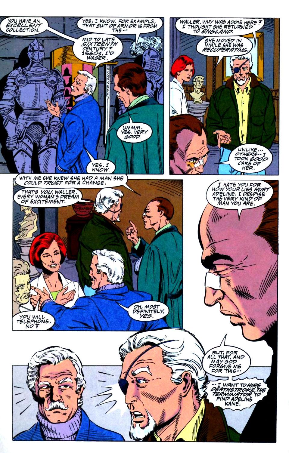 Deathstroke (1991) Issue #27 #32 - English 7