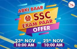 """ABKI BAAR SSC EXAM PAAR"" OFFER"
