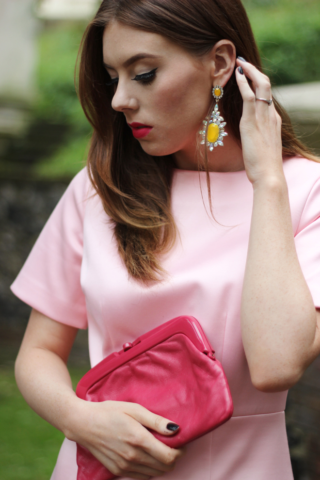 Christmas Dress Ideas - Pink Warehouse Dress   UK Fashion Blogger