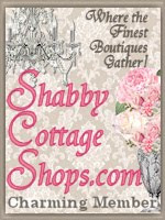 I'm a proud Member of Shabby Cottage Shops