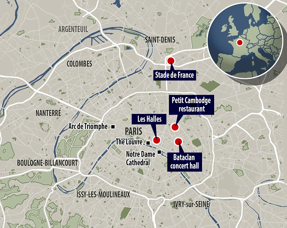 Hla Oos Blog MuslimTerrorists Kill More Than In Paris Attack - Parris map