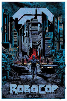 RoboCop Variant Screen Print by Kilian Eng x Grey Matter Art