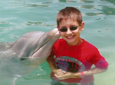 Grandson With The Dolphins