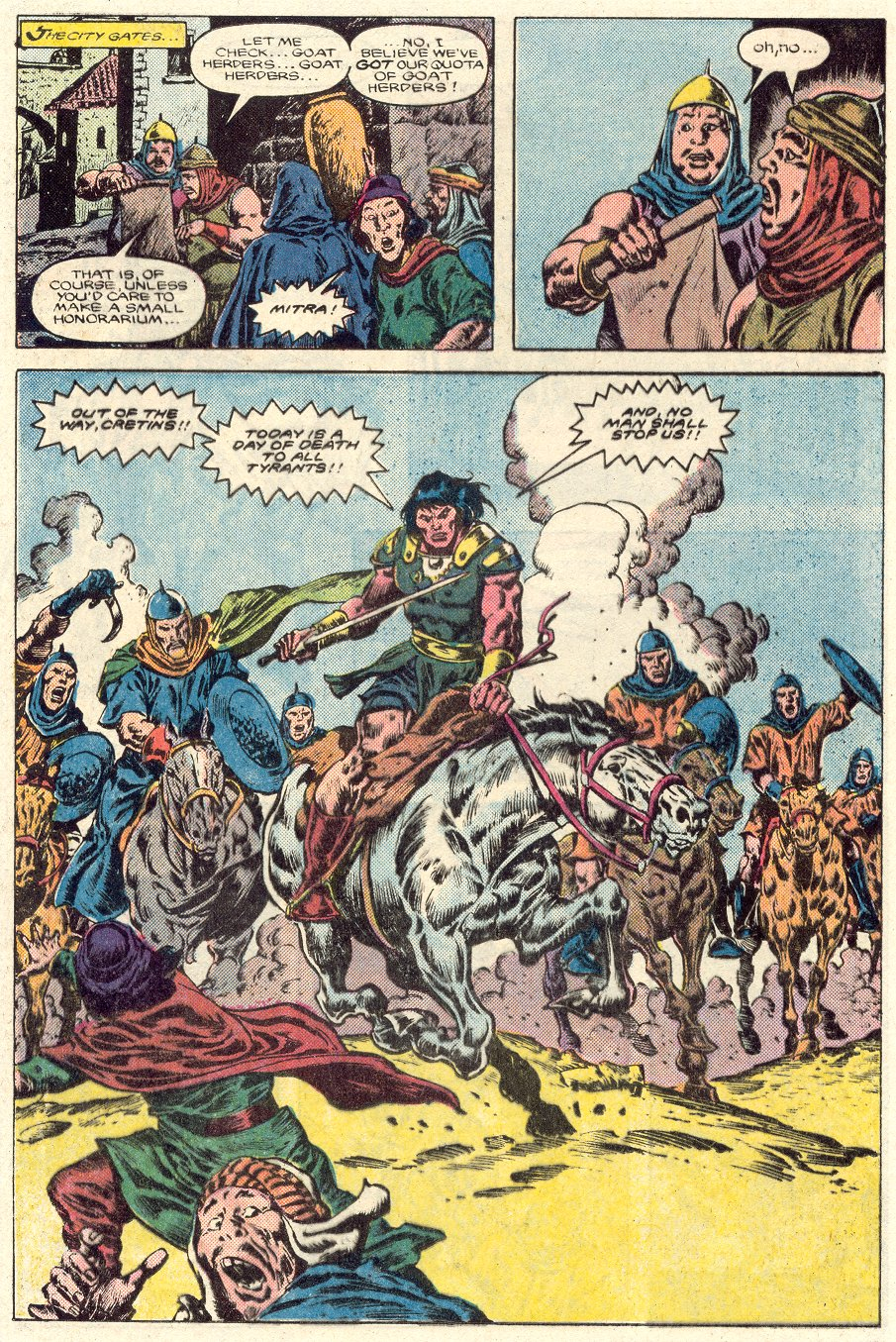 Conan the Barbarian (1970) Issue #184 #196 - English 11