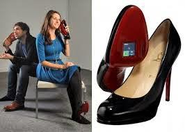 sepatu telepon