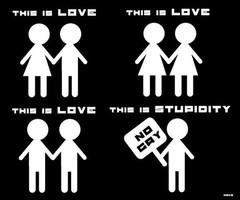 Fuck off homofobia!!
