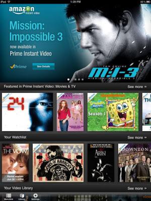 Amazon Instant Video for iPad
