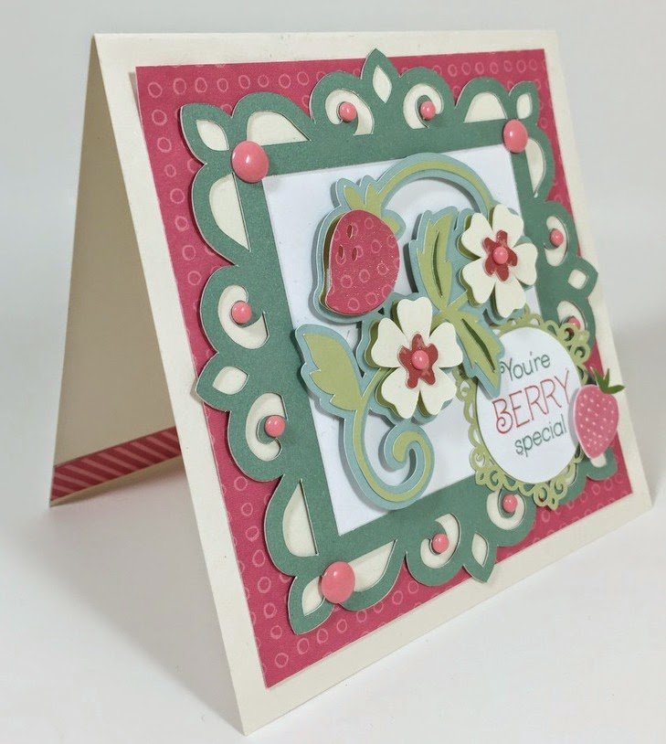 Cricut Berry Special Card