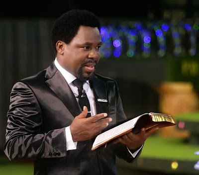 PASTOR TB JOSHUA'S CHURCH BANNED IN GHANA