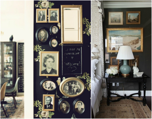 Apart Painting The Kitchen In Chalkboard Paint - Chalkboard accents dining rooms