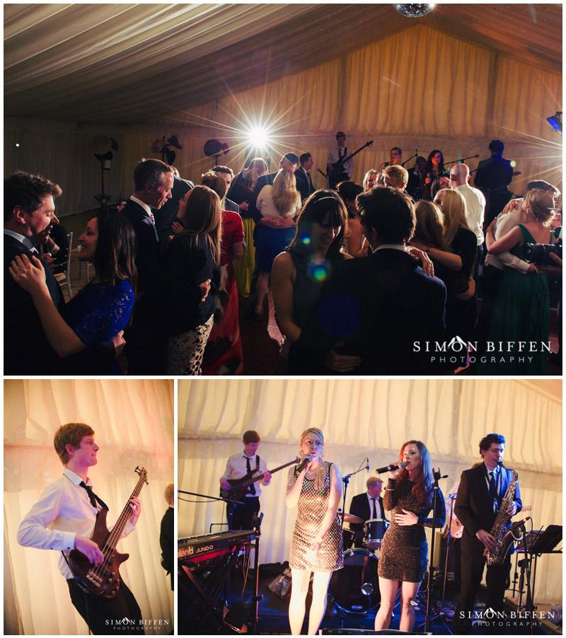 Wedding music and dancing