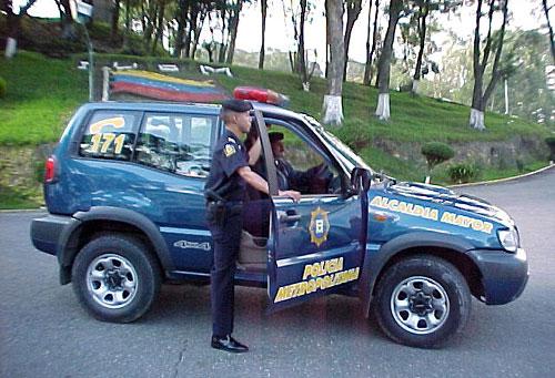 de policía