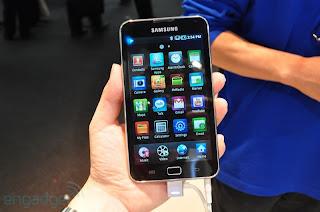 galaxyswifi23 Samsung Galaxy S WiFi 5.0 ve WiFi 4.0 Yeni Android Medya Oynatıcılar Olacak
