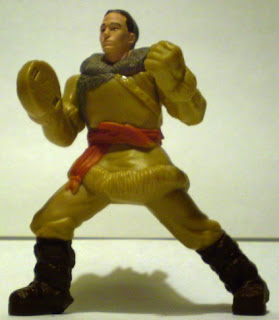 Front of McDonald's Sokka action figure from The Last Airbender