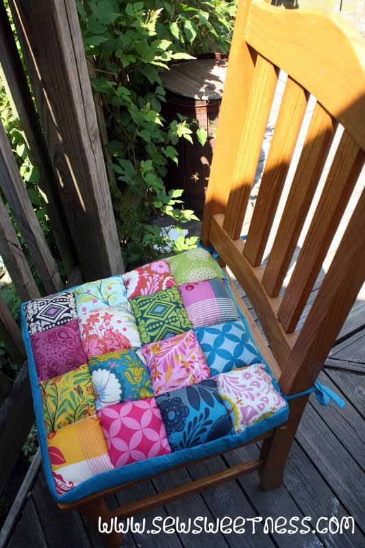 Giveaway accuquilt go baby sew sweetness for How to make seat cushions for dining room chairs