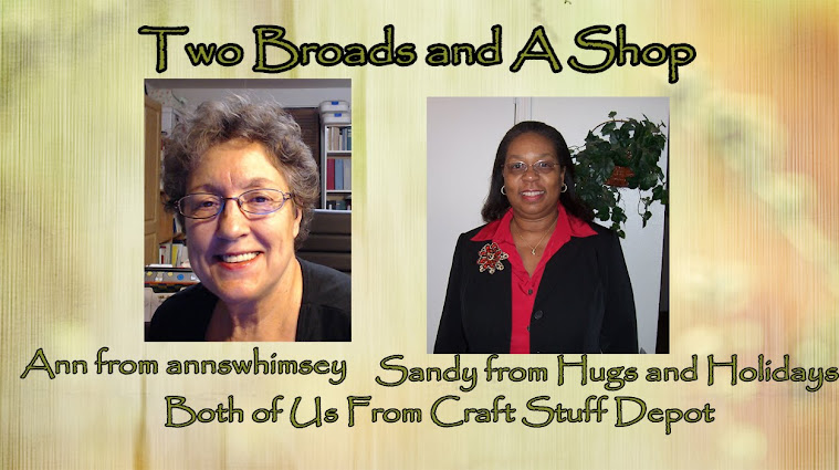 Two Broads and a Shop