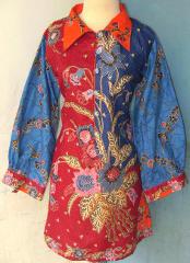 blus batik lucu