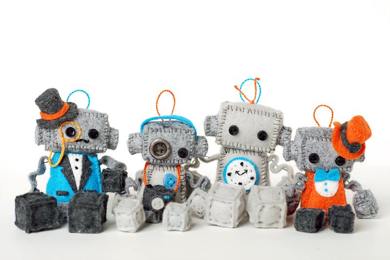 plush robots