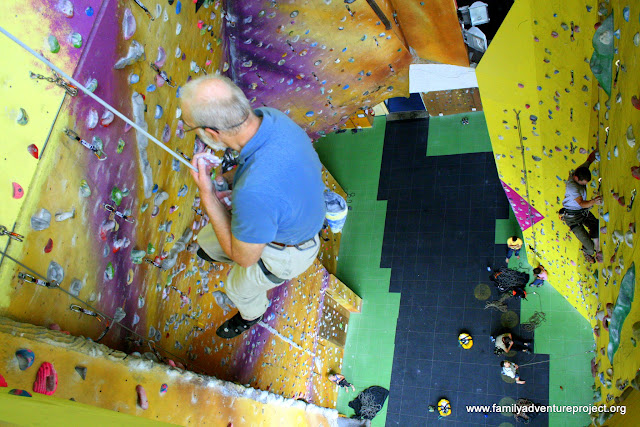 Kendal Climbing Wall: Tallest Wall in England