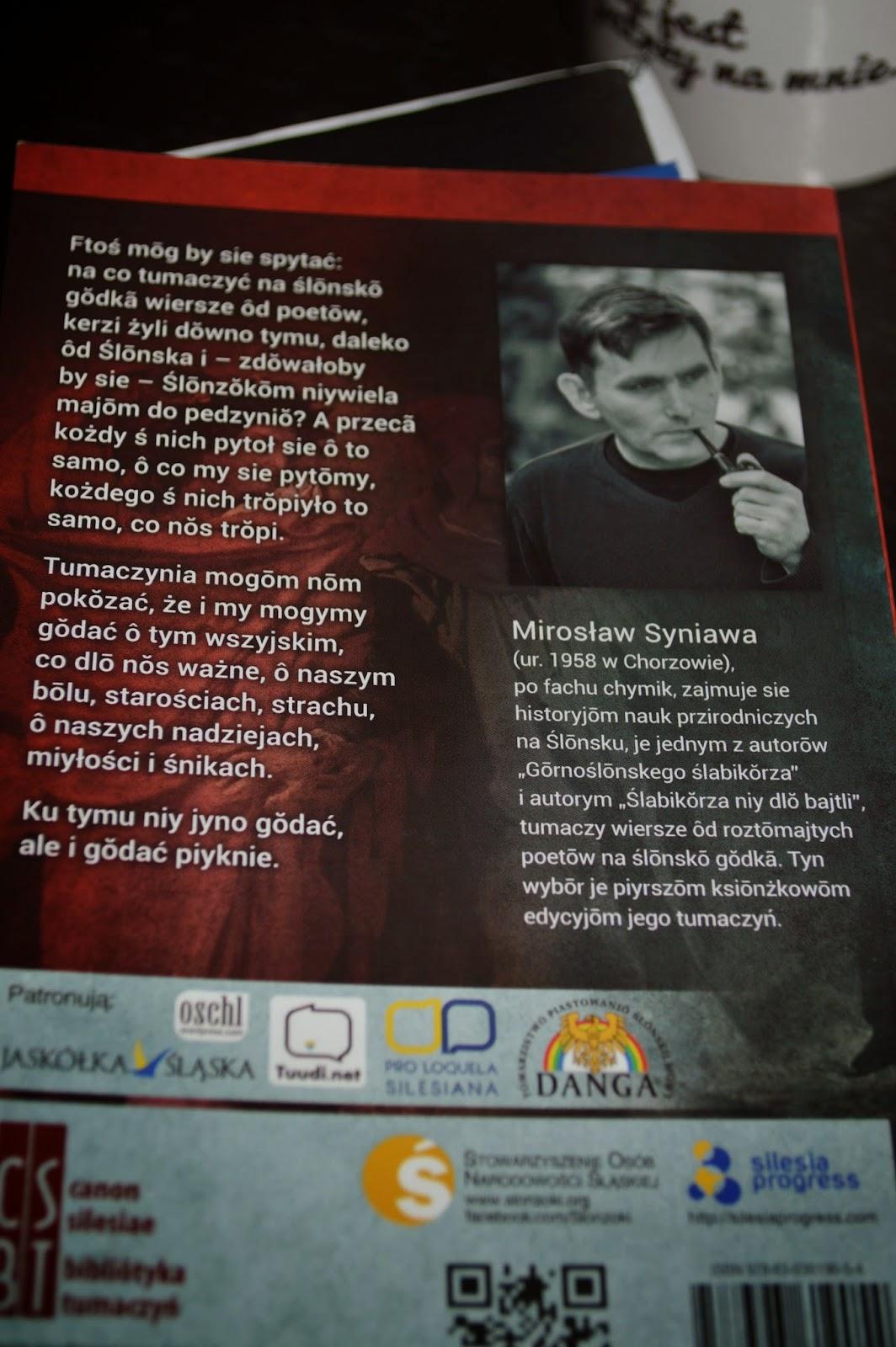 Dante i inksi. Blurb - fot. Literacka Kanciapa