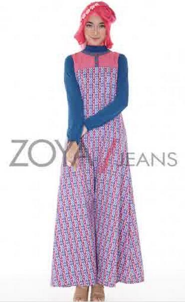 Model baju muslim zoya untuk wanita muslim big size import Baju gamis terbaru di matahari