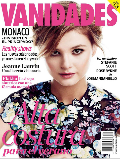 Singer, Actress @ Stefanie Scott - Vanidades USA, July 2015  Issue