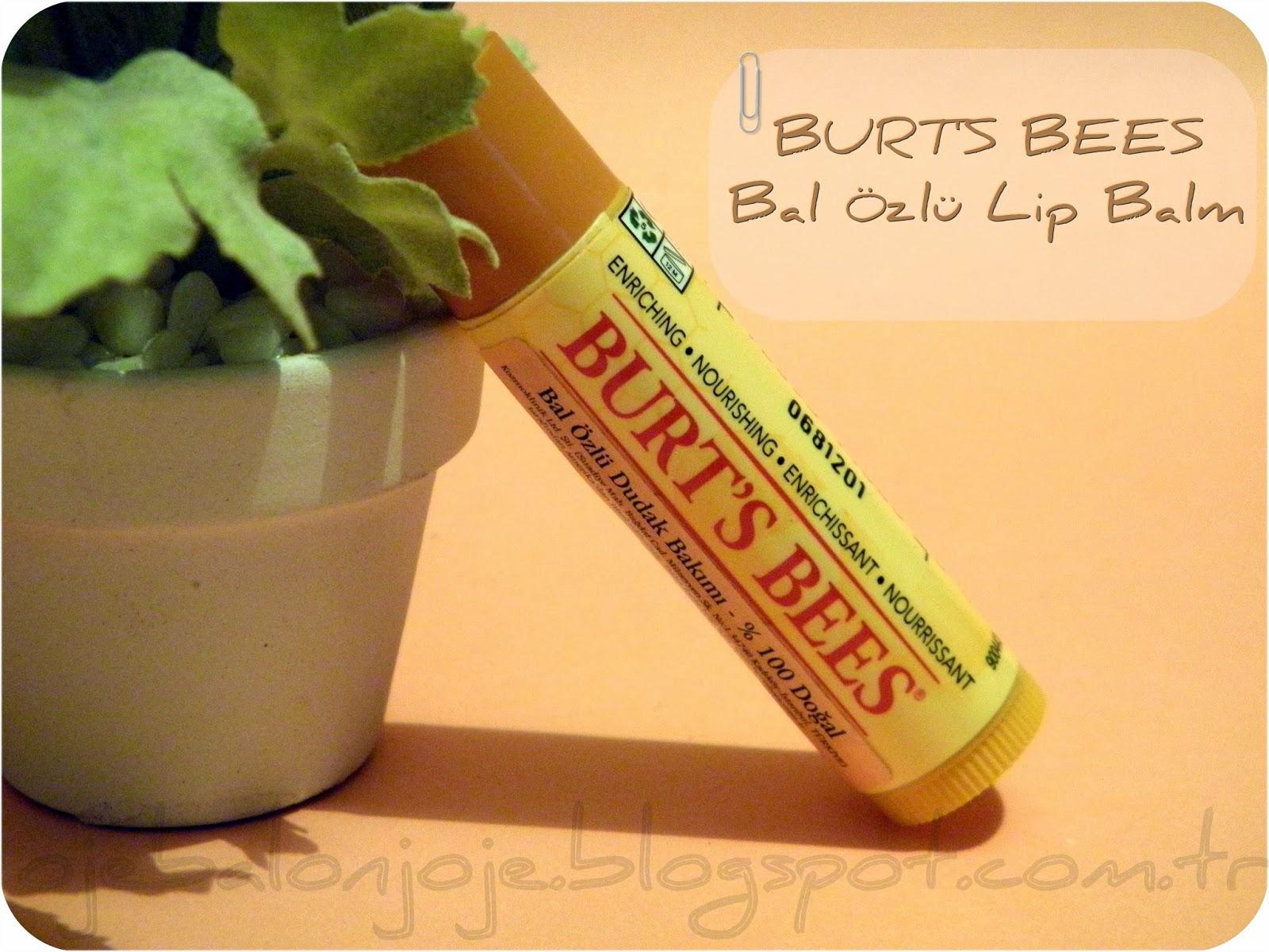 Burt's Bees Bal Özlü Lip Balm