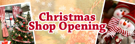 Creative Gardens News & Events: Christmas Shop Opening