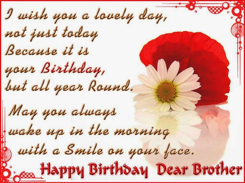 Cute Happy Birthday Quotes Wishes For Brother This Blog About Lovely Happy Birthday Wishes Quotes