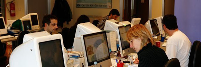 traductores trabajando