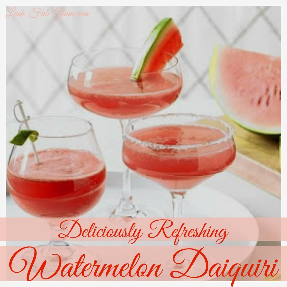Time to sip on a delicious watermelon daiquiri.