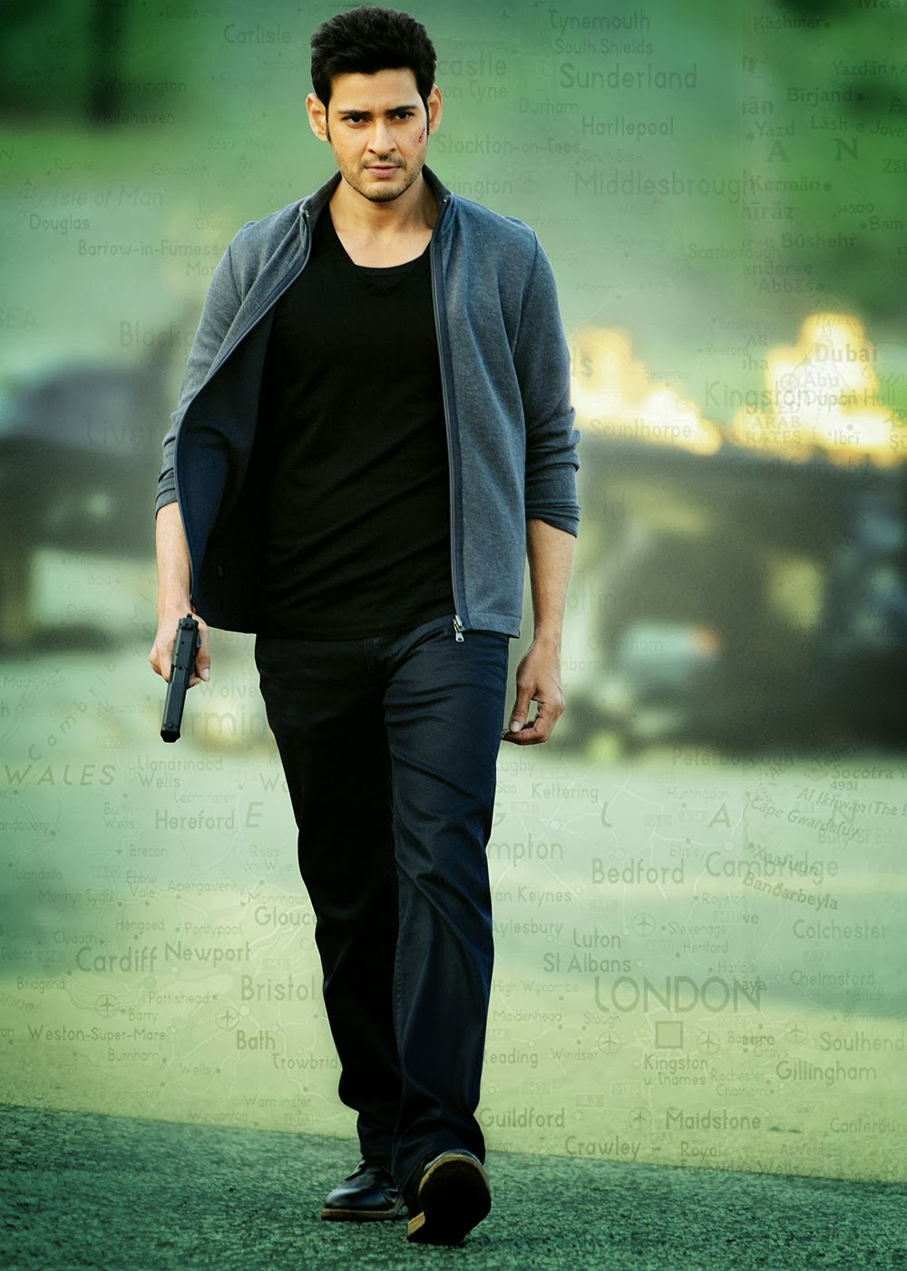 Mahesh Babu Latest Photos from 1 Nenokkadine HQ-HQ-Photo-16