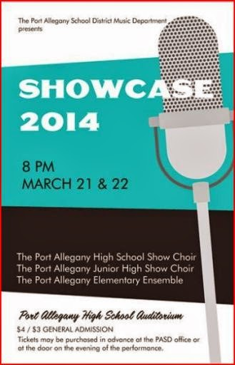 3-21/22 Showcase 2014 Port Allegany