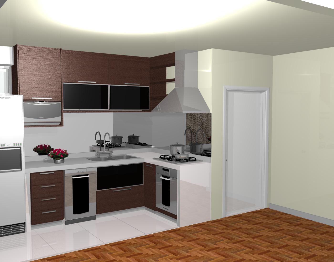 balcão de cozinha americana pequena #754525 1400 1100