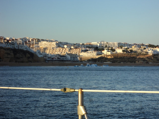 anchoring in Albufeira