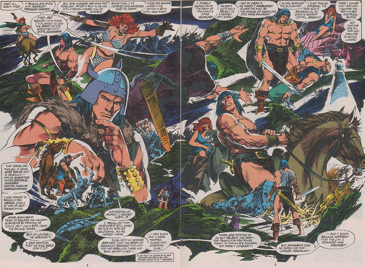 Conan the Barbarian (1970) Issue #262 #274 - English 3