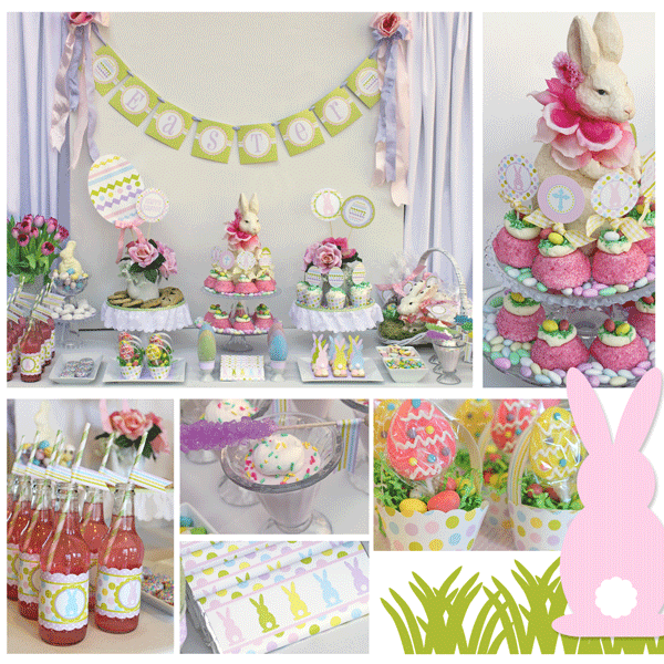 Just pleased as punch easter ideas and a great party