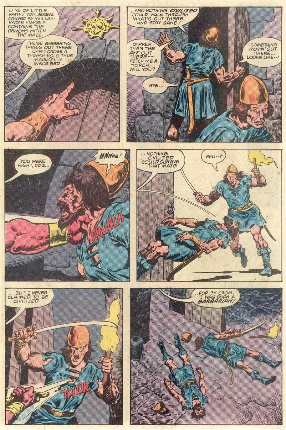 Conan the Barbarian (1970) Issue #117 #129 - English 5