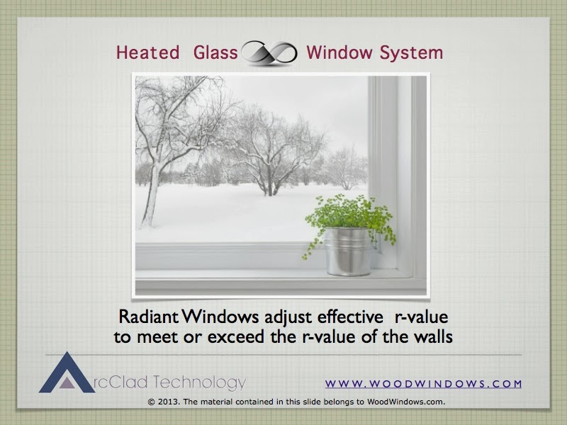Heated glass window systems heated glass window systems for Window r value