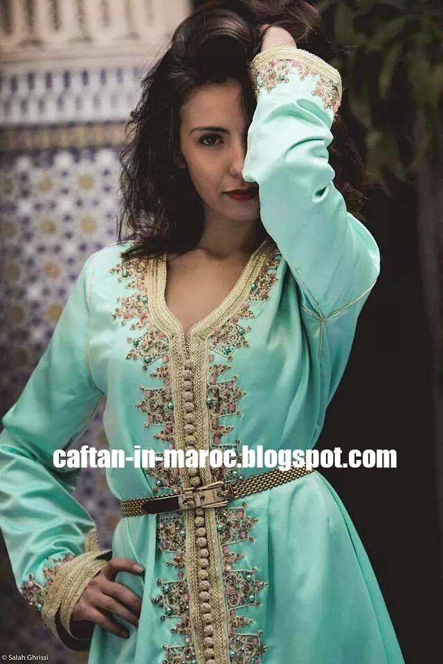 robe caftan marocain moderne