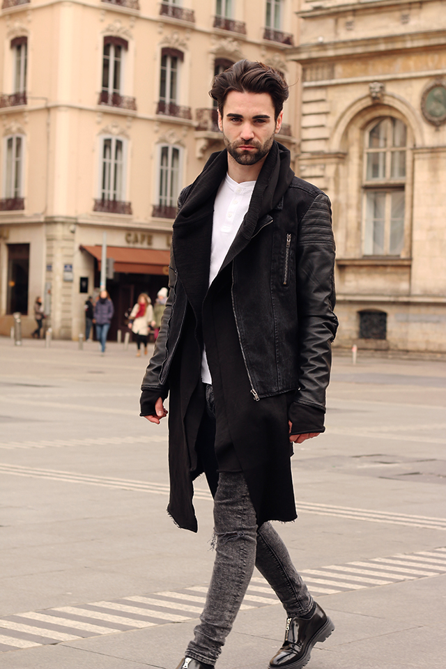 bershka, men style, fashion blog, swiss fashion blog, lyon, France, sandro paris, zara men, ootd, place des terreaux, road trip, mode suisse, smira fashion, smira, stephane mirao