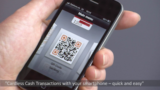 QR Code for Cardless Cash
