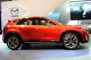 Mazda takes for 45% sale target 2012