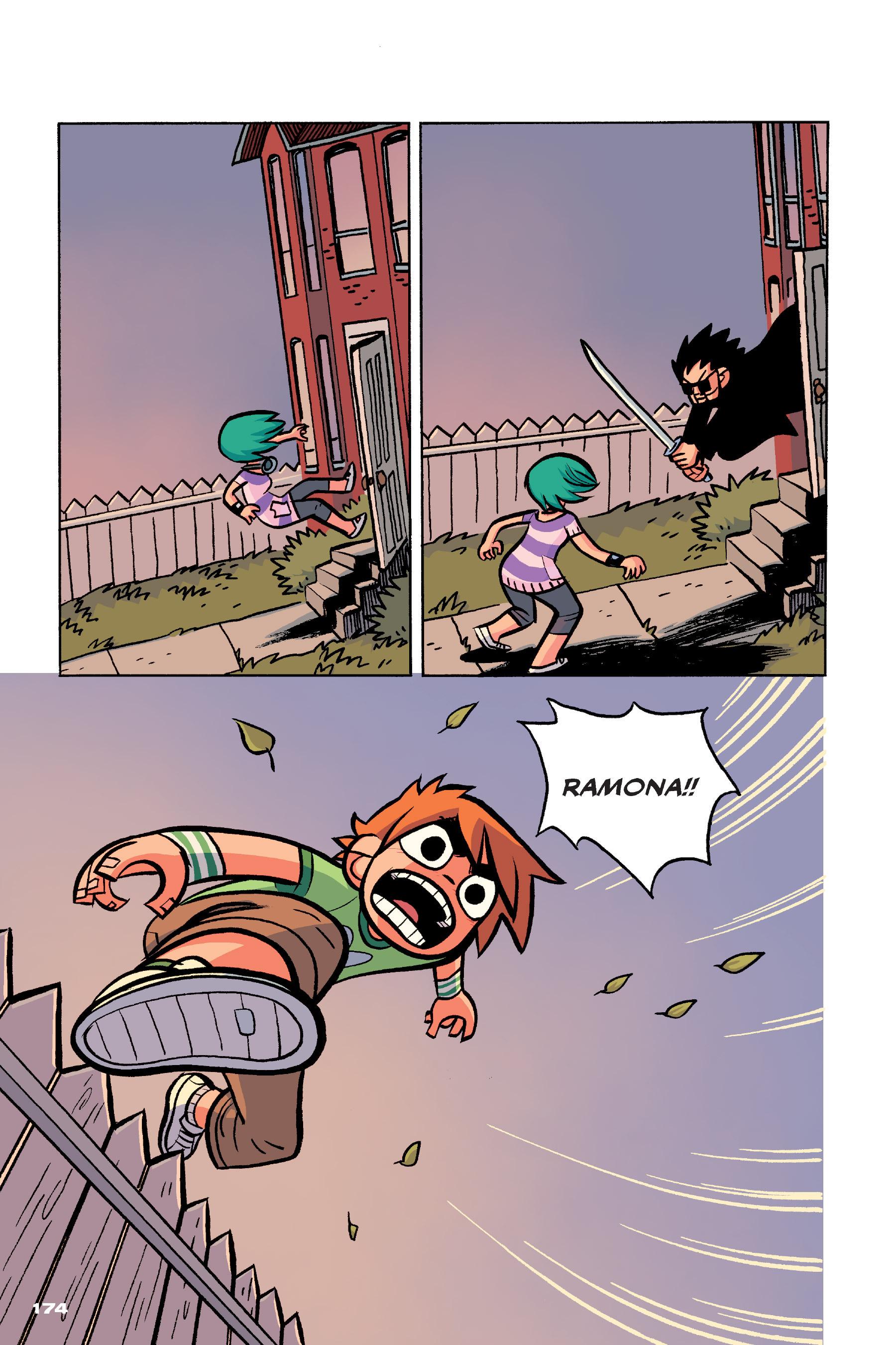 Read online Scott Pilgrim comic -  Issue #4 - 171