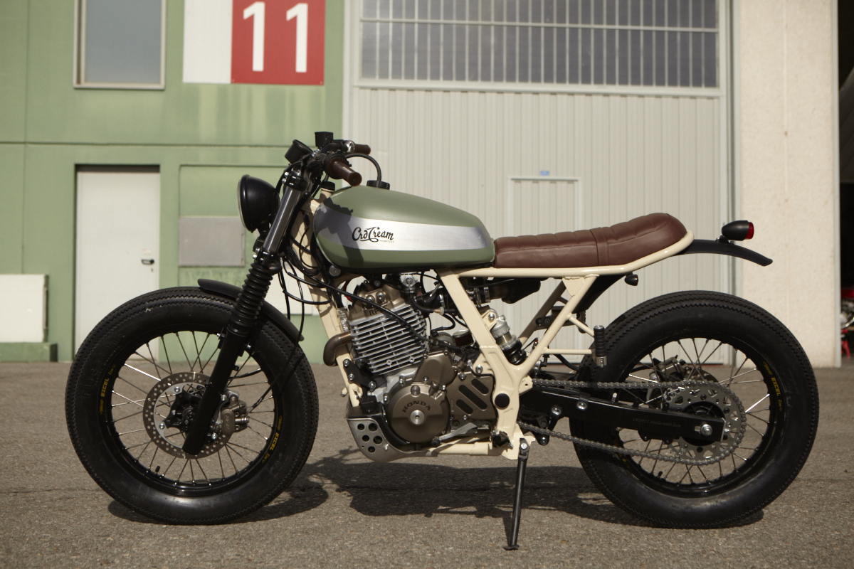 moto mucci daily inspiration cafe racer dreams 25 honda dominator. Black Bedroom Furniture Sets. Home Design Ideas