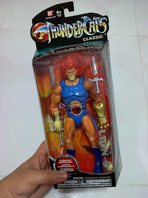Lion Tygra on Desmond Collection  Bandai Thundercats Classic  Lion O  And  Tygra