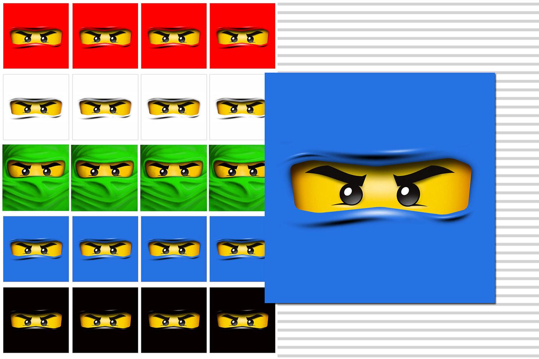 Маска Ninjago (Ниндзяго) 98897-PK1 Маска NINJAGO Джея LEGO 99