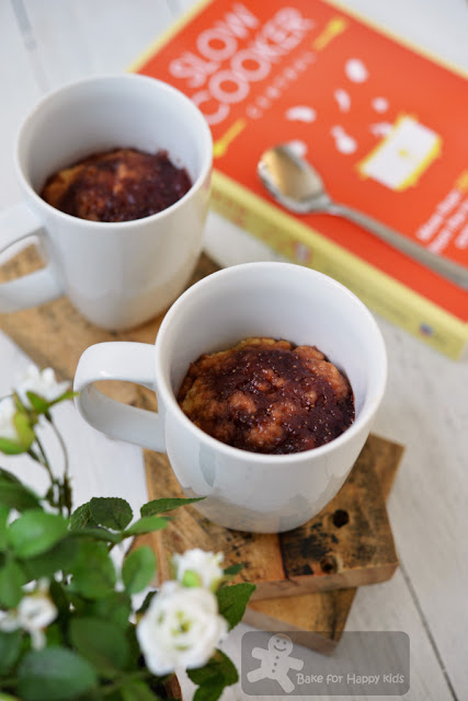 jam pudding in a mug Slow Cooker Central