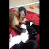 Vídeo: macaco se encanta por filhotes de cães
