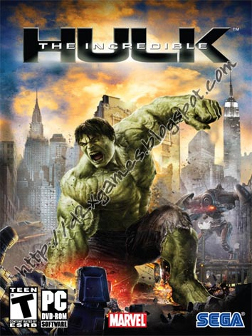 Free Download Games - The Incredible Hulk